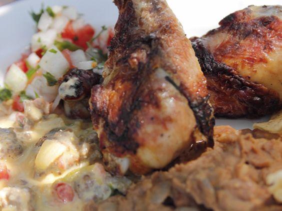 Pollo asado recipe chicken drumsticks orange juice and grill pan food forumfinder Choice Image