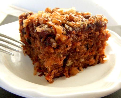 Carrot Cake With Buttermilk Glaze Recipe Food Com Recipe Banana Blondies Buttermilk Glaze Recipe Peanut Butter Banana