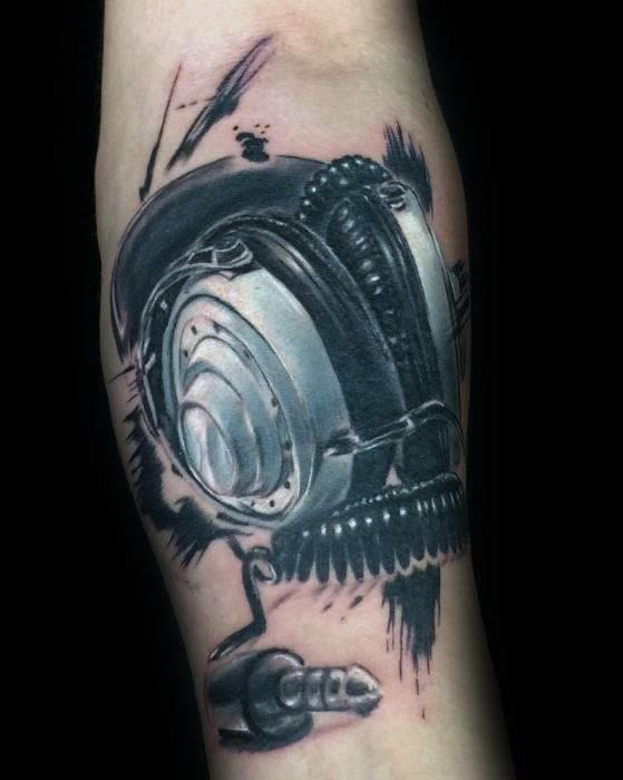Tattoos motive männer musik