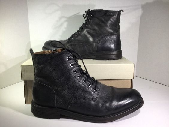 High tops, Leather boots and Clarks on Pinterest
