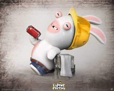 Poster affiche lapins cr tins ma on sexy lapin cr tin - Lapin cretain gratuit ...