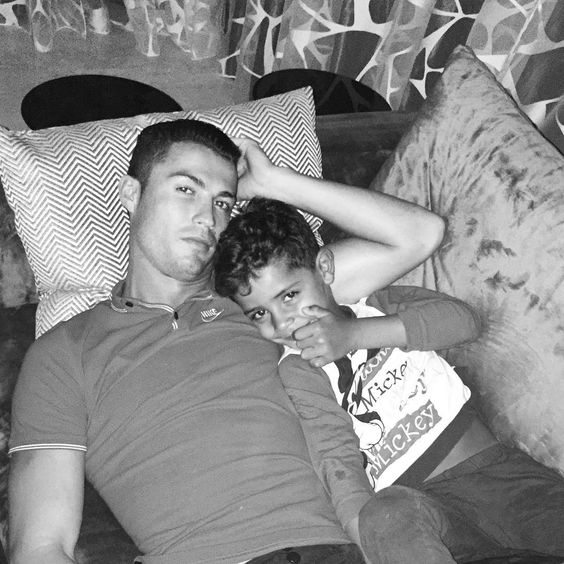 """""""Watching tv with my little man! ✌️"""""""