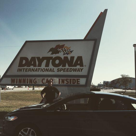 Picwhich at Daytona Speedway