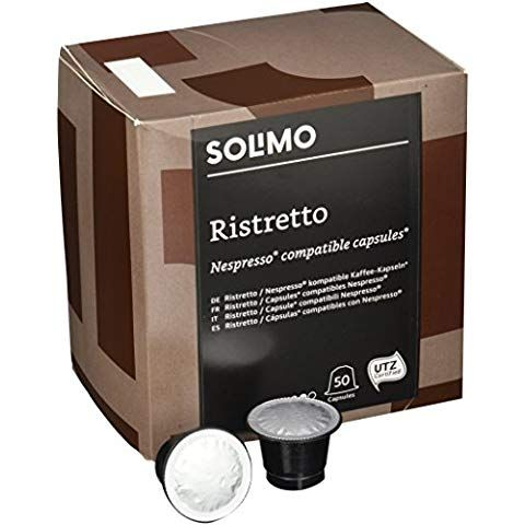 Marca Amazon Solimo Capsulas Ristretto Compatibles Con
