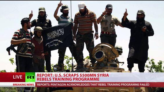 US scraps Syria rebels training program - report infowars - training report