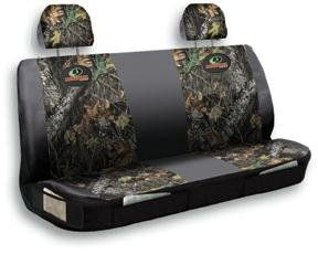 $47.33-$46.00 Baby Bench Seat Cover, MOSSY OAK - The Dirt Warrior! Protect your ride, Bench Seat Cover, PRICED LESS! Your truck IS your office. It's no surprise when things get a little dirty. Enter this Seat Cover, ready to keep your interior looking good during your day-to-day ops. Pets, parts, dirty coworkers... run the whole gauntlet. Offered here for LESS! Top protection: Heavy-duty polyest ...