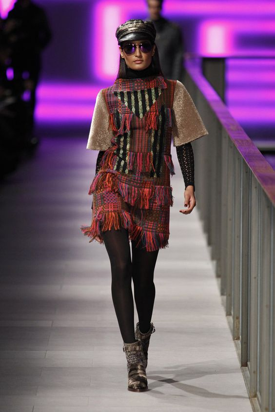 #CustoBarcelona #FW/2014-15 #Catwalk #trends #tartan #080BarcelonaFashion #Barcelona