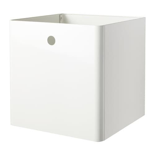 Kuggis Storage Box White 30x30x30 Cm With Images Office Supplies Logo Rustic Office Supplies Pretty Office Supplies