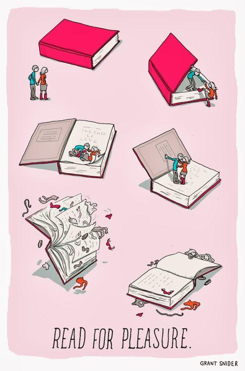 Leer por placer - Grant Snider