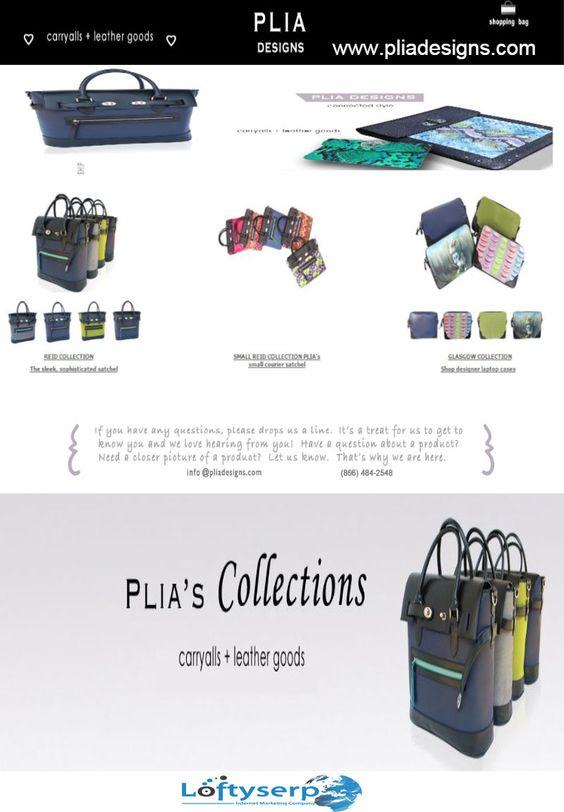 designer handbags - www.pliadesigns.com