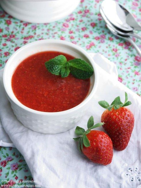 Hello Strawberry Soup. It's Berry Nice to Meet You!