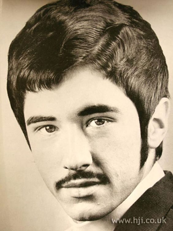 1970's men's hairstyle