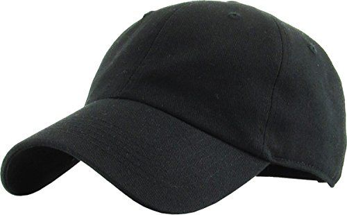 Baseball Cap Classic Adjustable Unstructured Polo Style Low Profile