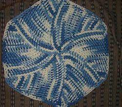 [Free Pattern] So Fun And Easy To Make Tunisian Short Row Dishcloth