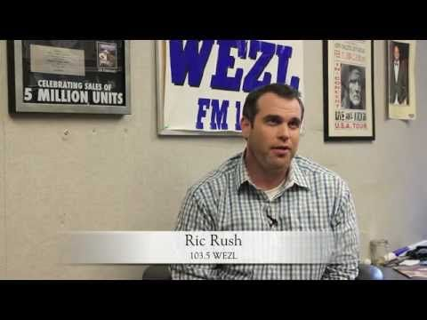 North Charleston Coliseum Memories with Ric Rush from WEZL103.5 & Y102.5  #NCCMemories  www.NorthCharlestonColiseumPAC.com