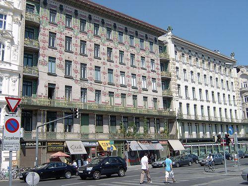 Wienzeilehäuser - Wagner (Wien)    We love Wien!  http://www.ostheimer.at