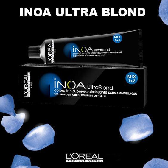 nouveaut juin 2013 super eclaircissant ultra blond inoa sans ammoniaque et rsultat brillant - Super Eclaircissant Sur Cheveux Colores