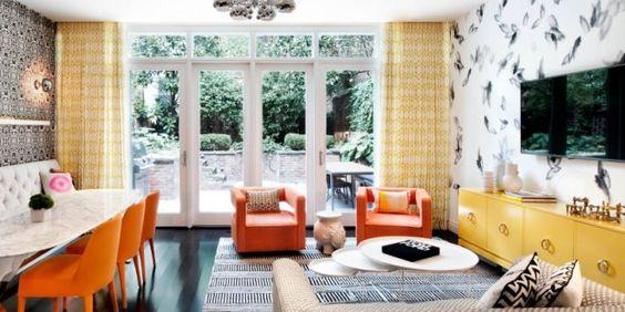 Wohnidee für ein buntes und modernes Interieur - fresHouse