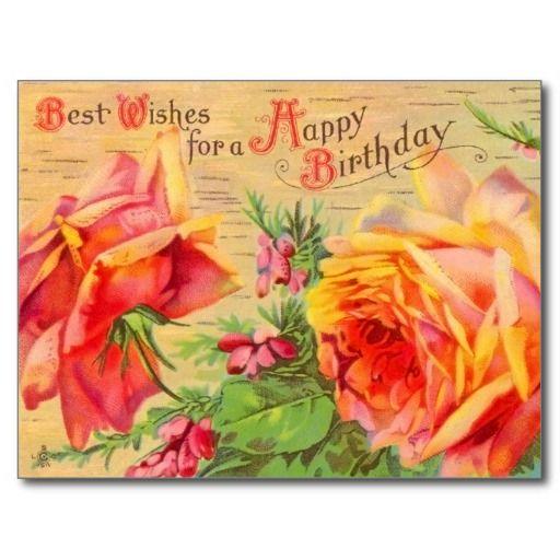 $$$ This is great for          Vintage Floral Birthday Postcard           Vintage Floral Birthday Postcard We provide you all shopping site and all informations in our go to store link. You will see low prices onDeals          Vintage Floral Birthday Postcard Review from Associated Store wi...Cleck Hot Deals >>> http://www.zazzle.com/vintage_floral_birthday_postcard-239041826288690328?rf=238627982471231924&zbar=1&tc=terrest