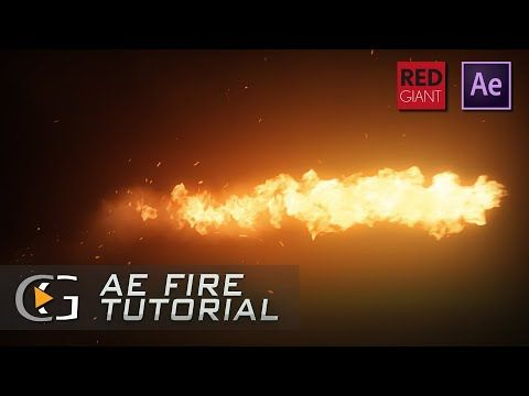 After Effects Realistic Fire Tutorial Trapcode Particular