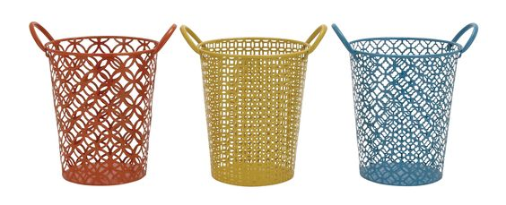 Beautiful And Unique Inspired Fun Metal Basket 3 Assorted Home Accent Decor|lamp | lighting, furniture | accents, home decor | accessories, wall decor, patio | garden, Rugs, seasonal decor,garden decor,home decor & accessories