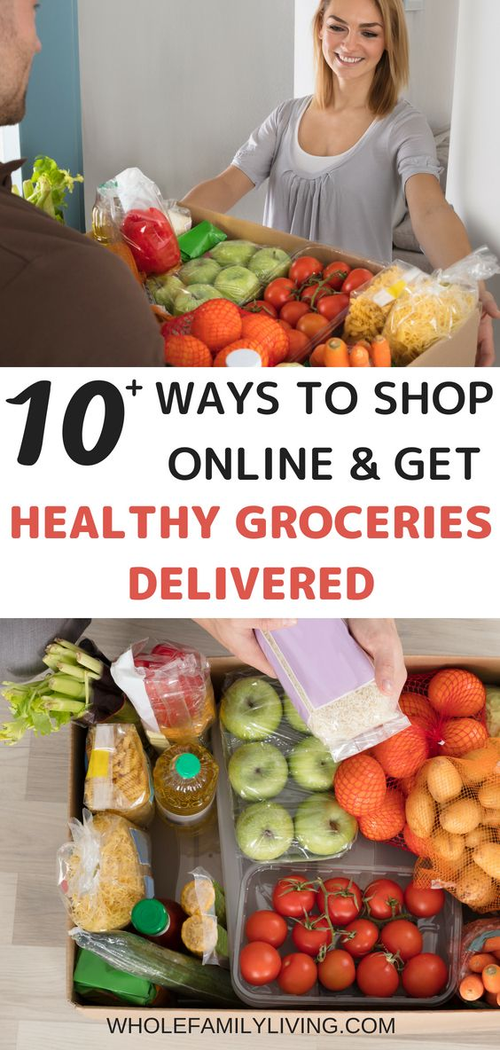 Buy Healthy Groceries Online And Save A Ton Of Time And Money Whole Family Living Healthy Grocery Shopping Healthy Groceries Healthy Food Delivery
