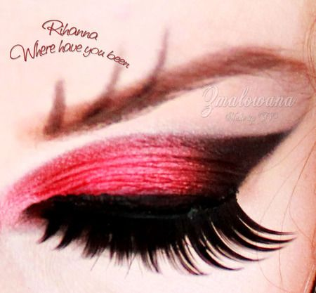 Gorgeous look via Sugarpill..  May just have to do this one  ^_^