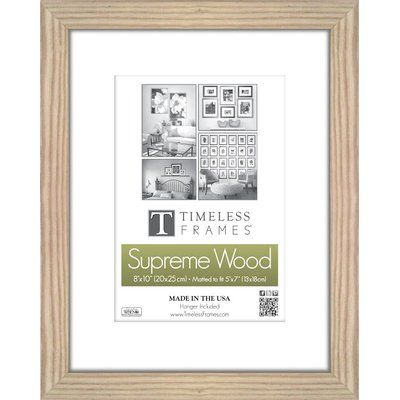Charlton Home Barile Wall Picture Frame Color Natural Size 10 X 13 Picture Frame Sizes Picture Frames Picture Wall