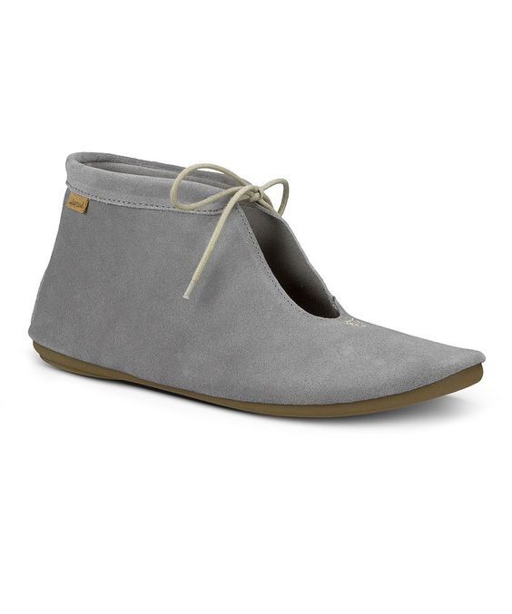 Look what I found on #zulily! Sanuk Charcoal Penelope Suede Bootie - Women by Sanuk #zulilyfinds