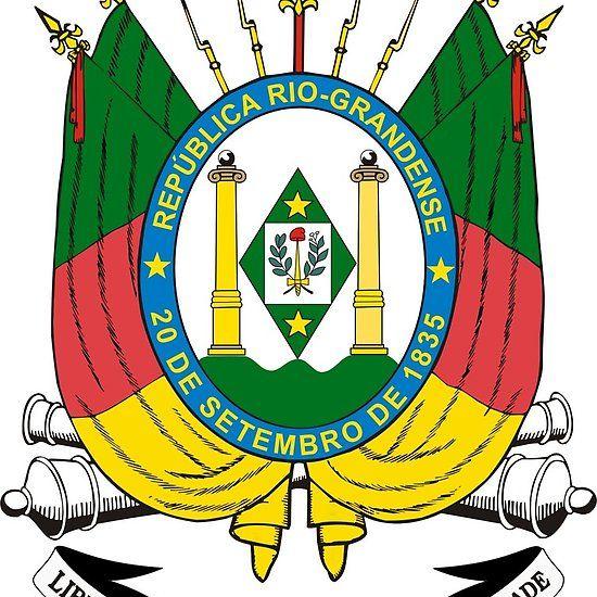 Rio Grande Do Sul Coat Of Arms Brazil Rsbr