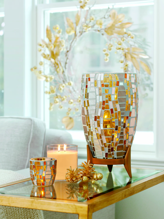 Home Decor Trend For Fall Holiday 2015 Mosaics Partylite