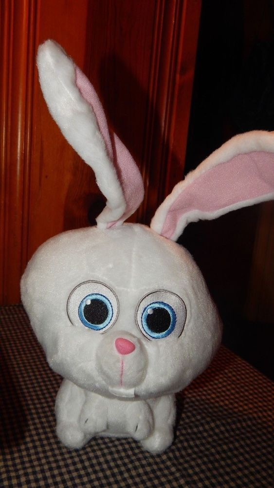 The Secret Life Of Pets Snowball Bunny 14 Plush Toy Factory 2016