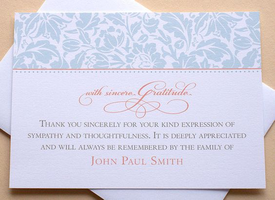 how to create a thank you card college