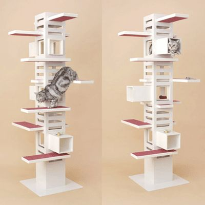 cat tree design ideas simple diy cat furniture design. Black Bedroom Furniture Sets. Home Design Ideas