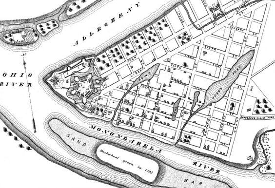 original plan of Pittsburgh