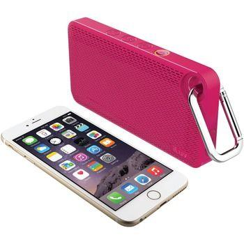 Iluv App-controlled Splashproof Bluetooth Speaker (pink)
