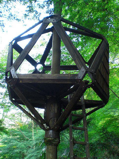 Bizarre Treehouse Closeup by romanedirisinghe, via Flickr