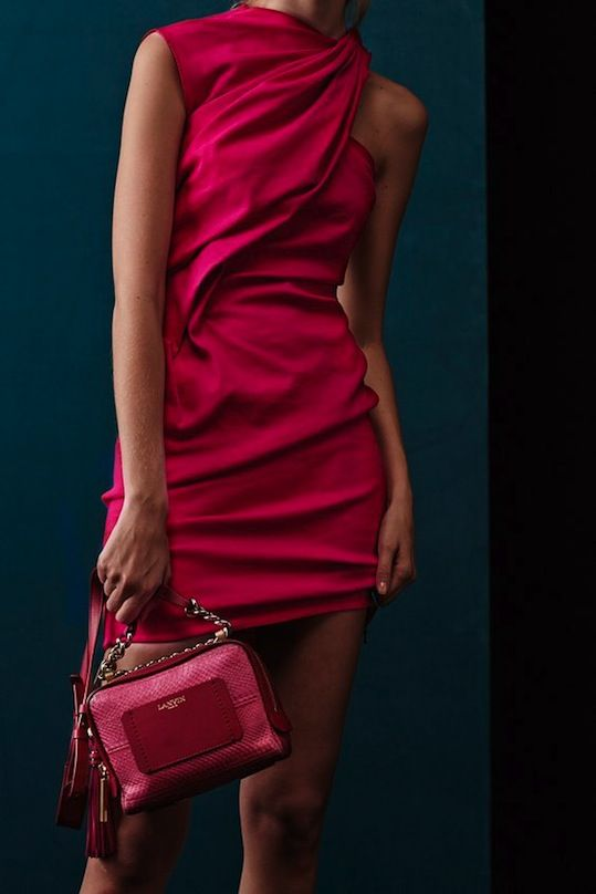 Icon Trend Blog | Global Views on Trends | Lanvin Resort red snake skin handbag
