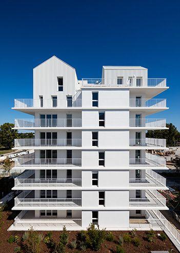 96 logements collectifs écoquartier Ginko | Marjan Hessamfar & Joe Vérons architectes associés
