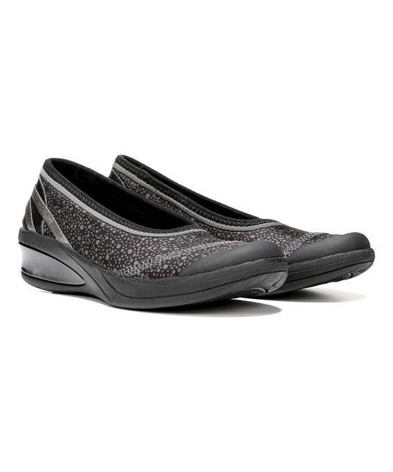 Look at this BZees by Naturalizer Black Galaxy Flawless  Stretch Walking Shoe on #zulily today!