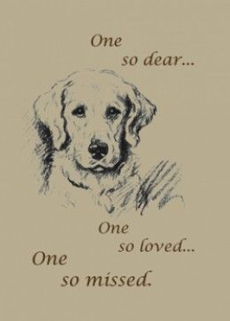 How to Write a Sympathy Note, in the loss of a pet...
