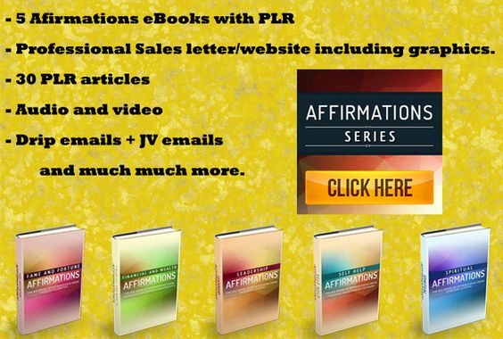 I will give you Abundance reseller package with 5 eBooks - professional sales letter