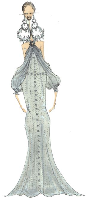 J.Larkowsky Illustration | Givenchy Haute Couture Spring 2012: