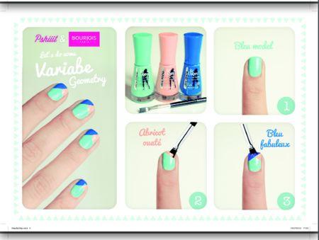 DIY Color blocking Nail Art  - #nailart #nails #colorblocking #DIYnails #misstracyley - bellashoot.com