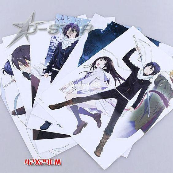 Frete Grátis Anime Japonês Noragami Dos Desenhos Animados De Alta Qualidade De Gravação Em Relevo Posters