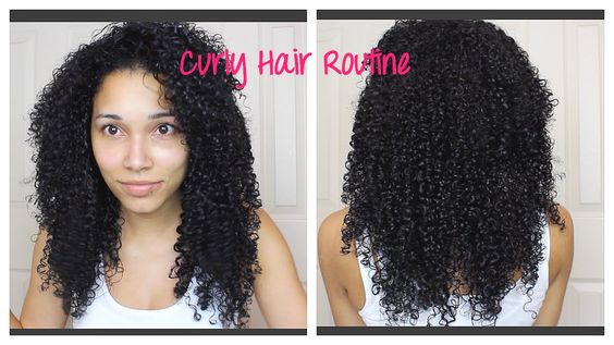 Curly Hair Routine March 2015