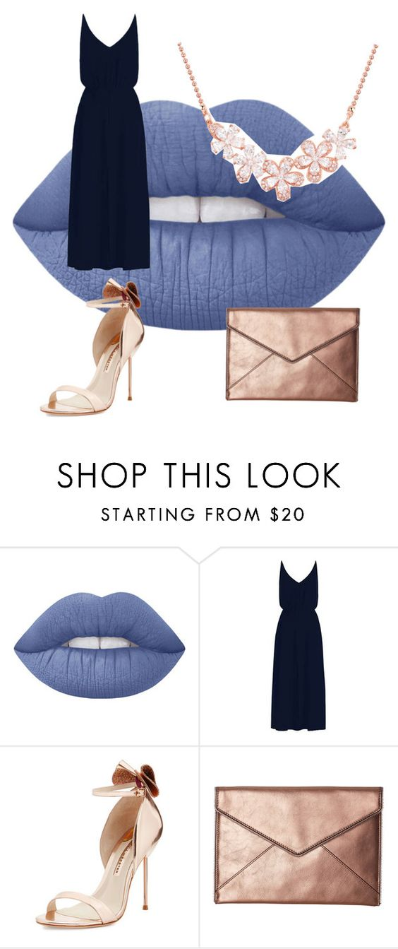 """""""RAVENCLAW PROM GURL"""" by style-by-sophia ❤ liked on Polyvore featuring Lime Crime, Zimmermann, Sophia Webster and Rebecca Minkoff"""
