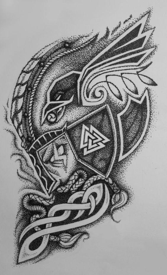Viking Celtic Tattoos By Dimon Taturin Www