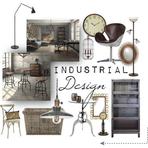 Industrial Home Interior Design: Industrial, Design And Mood Boards On Pinterest