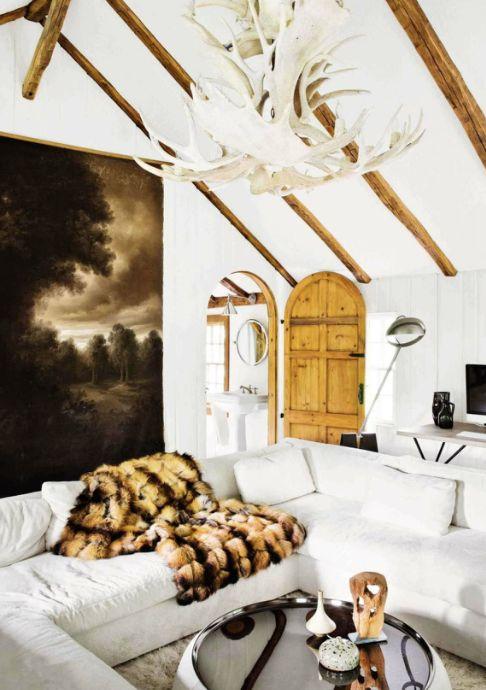 Sala estilo global moderno